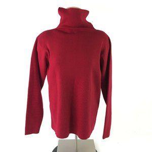 Eileen Fisher Split Collar Sweater Pullover Merino